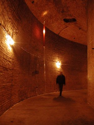 Made in Water, soundinstallation in Grosse Wasserspeicher, Prenzlauer Berg Berlin 2002