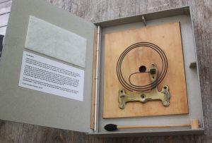 Urklokke, lyd-bogobjekt 2016, Artists Books i Museumsbygningen København